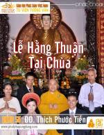 Lễ Hằng Thuận Tại Chùa