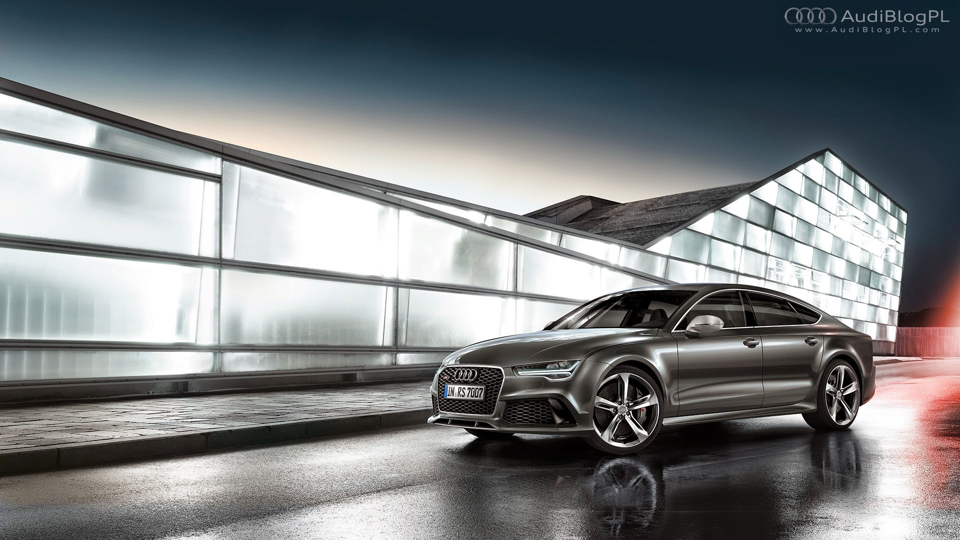 AudiBlogPL: Tapety: Audi RS7 FL