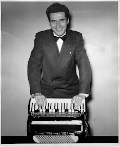 Al Fabre, accordionist. Promo photo (circa 1948) Seattle, Washington.