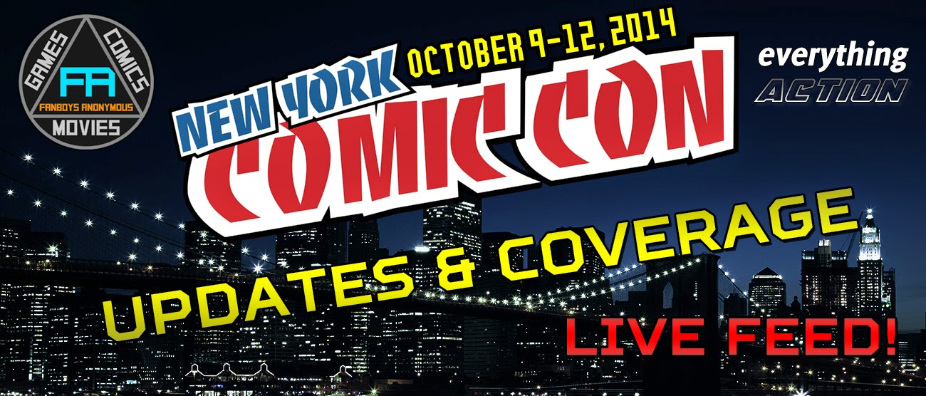 live New York Comic Con 2014 feed coverage