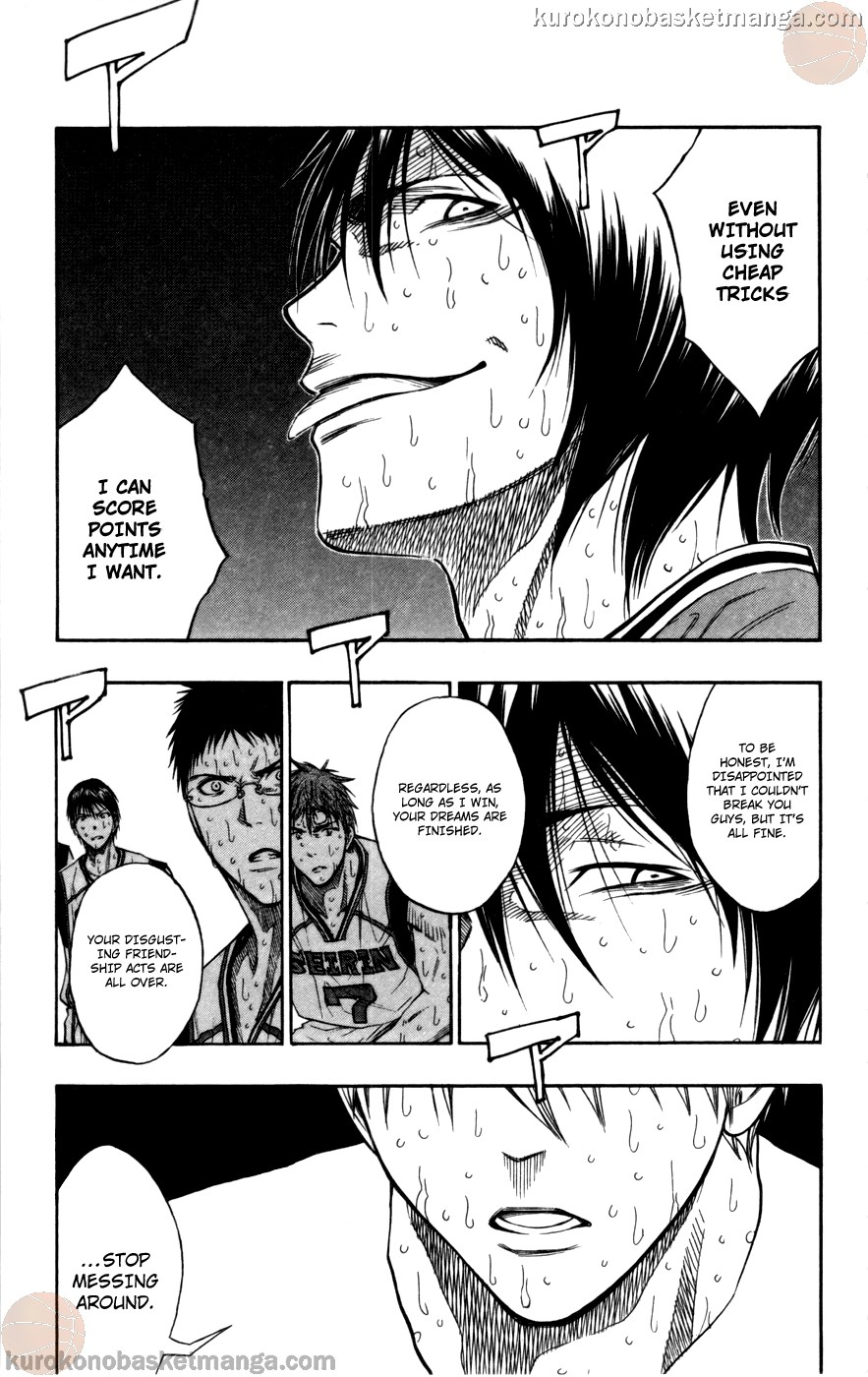 Kuroko no Basket Manga Chapter 107 - Image 09