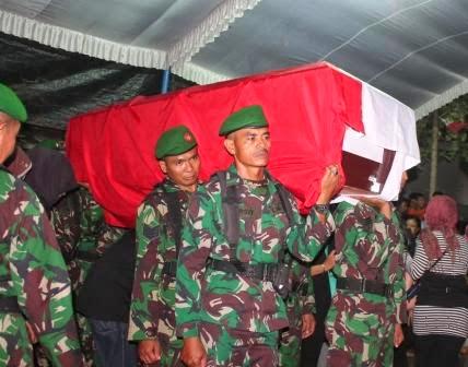 korban tewas jatunya helikopter MI-17 di Malinau, Kalimantan Utara