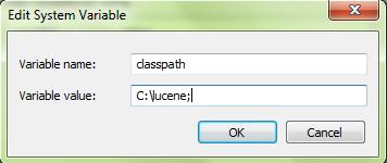 Menambahkan sistem variabel dengan cara mengedit dan mengisikan variable name dan variable value