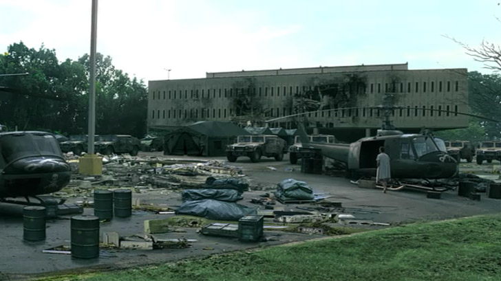 Hospital Scene - The Walking Dead Atlanta.