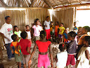The church in that village, started by YWAM Tamatave several years ago.