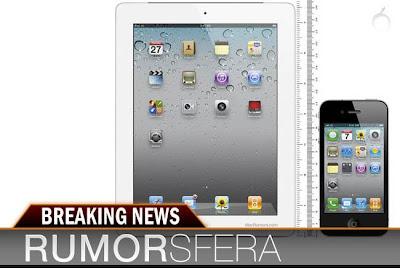 Rumorsfera: iPhone 5 en vídeo, iPad de siete pulgadas y mayor presencia en redes sociales