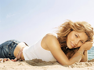 Jessica Biel Hottest Wallpaper Pictures 1600 X 1200