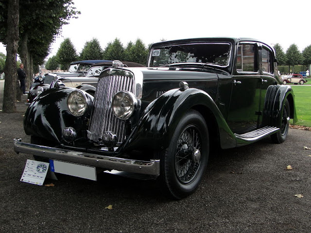 Aston Martin 15/98 4 door Saloon, 1936 г.