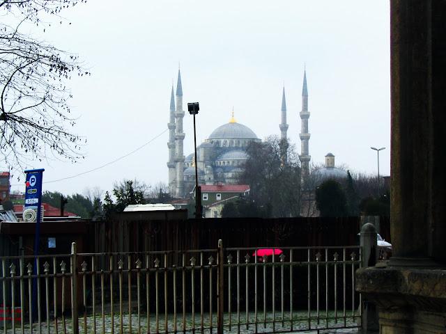 Mezquita Azul dende a Porta Imperial