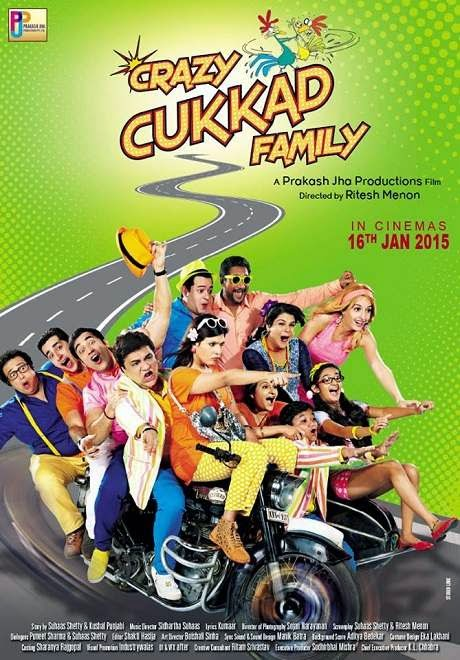 Cover of Crazy Cukkad Family (2015) Hindi Movie Mp3 Songs Free Download Listen Online at Alldownloads4u.Com