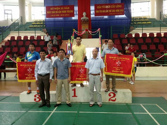 Đoàn vận động viên Trường CĐSP Yên Bái tham dự giải vô địch cầu long tỉnh yên bái lần thứ 22