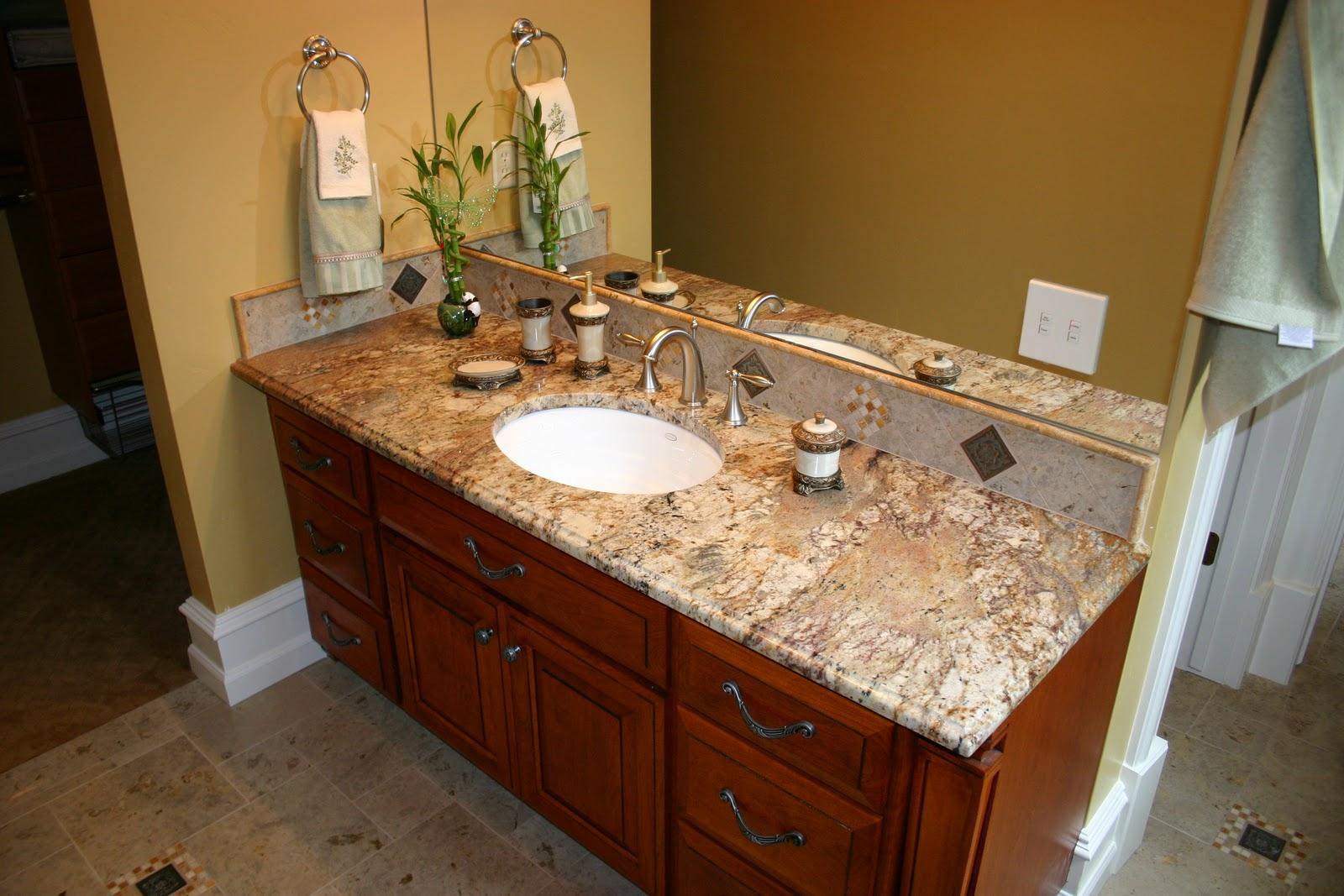 The Granite Gurus: Typhoon Bordeaux Granite Bath from MGS by Design
