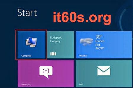 Cách thêm biểu tượng ra màn hình Start Screen Windows 8 2
