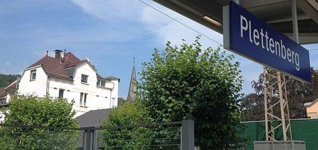 Am Bahnhof von Plettenberg