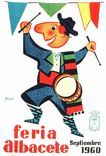 Cartel Feria Albacete 1960