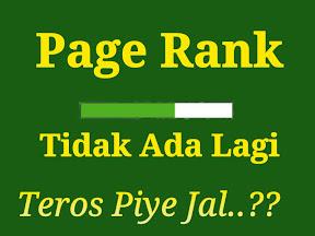 PageRank Tidak Update Lagi