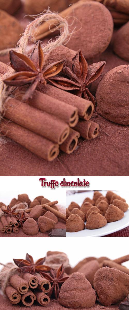 Stock Photo: Truffe chocolate