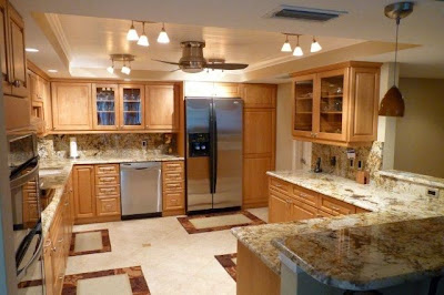 Fully remodeled kitchen with granite countertops and stainless steel appliances.  All the amenities a budding chef or the kitchen novice could ask for.