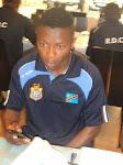 L'international congolais David Mbala/Ph. Jerry Angengwa