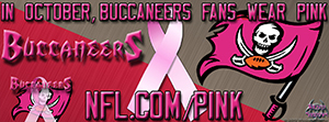 Buccaneers Breast Cancer Awareness Pink Facebook Cover Photo