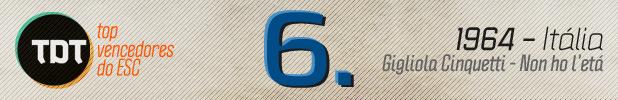 6 Tdt | Top 10 Vencedores Do Esc