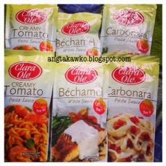 Clara Ole Creamy Tomato Pasta Sauce Bechamel White Sauce And Carbonara Pasta Sauce Product Review