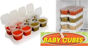 Petits pots de conservation de baby cubes cubes petits - Conservation petit pot bebe fait maison ...