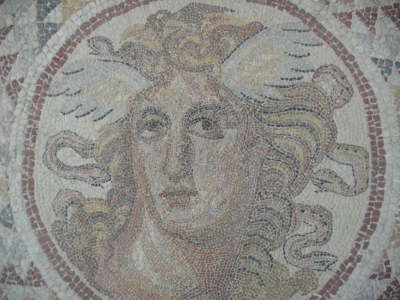Mosaico del Museo Arqueológico Nacional de Atenas