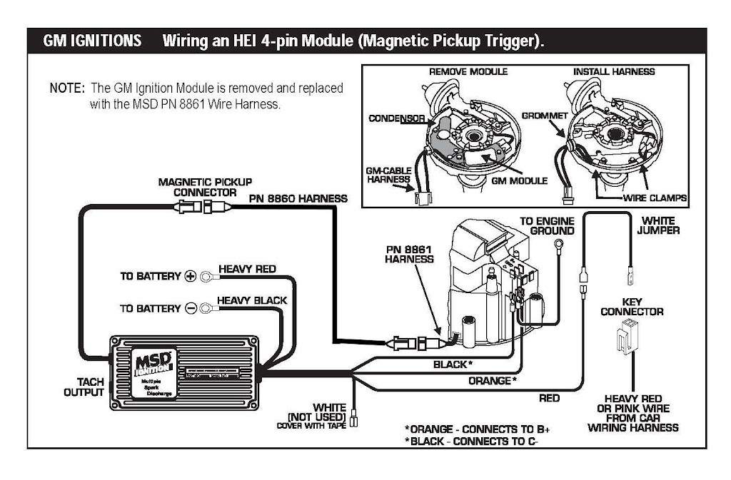 MSD%2520HEI%25206A msd 6al wiring diagram chevy msd ignition wiring schematic  at gsmportal.co