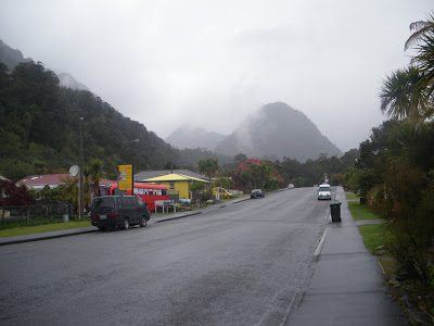 Backpacking in New Zealand: Franz Josef Township