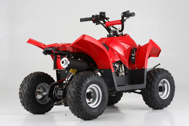 90cc Kids Crossfire Kanga Quad Bike ATV
