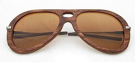 Wooden aviator