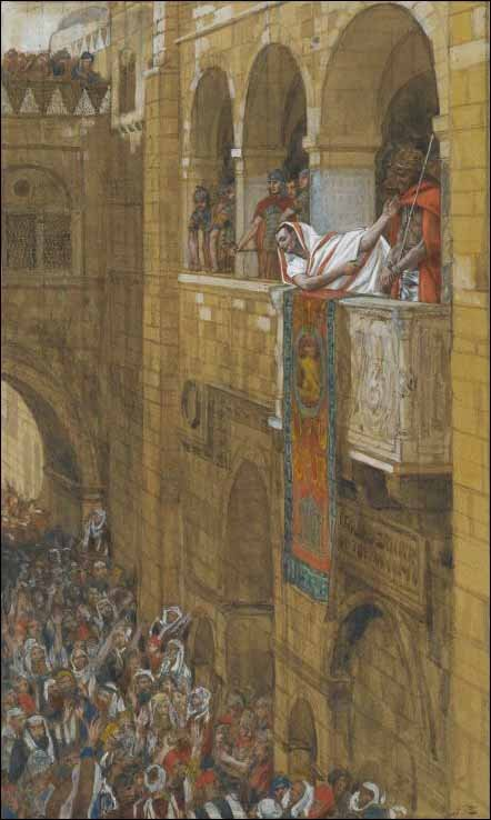 Behold, the Man - by James Tissot (1836-1902)