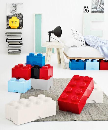 Mattoncini Lego Portaoggetti