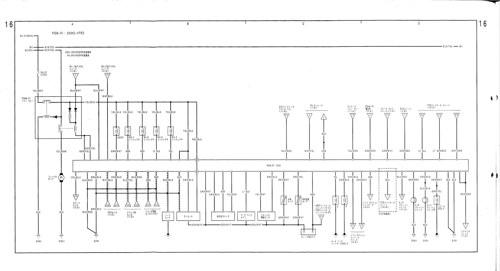 rhd civic wiring diagram
