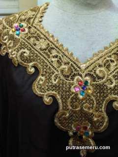 Baju Muslim Coklat