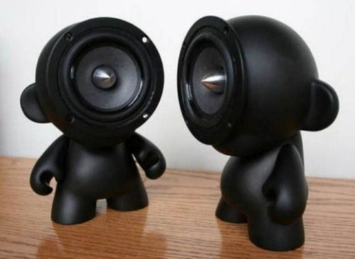 These are one of the unique speakers, which one cant think of and it can be  placed in any unusual places. But i can't tell you, how its gonna sound, ...