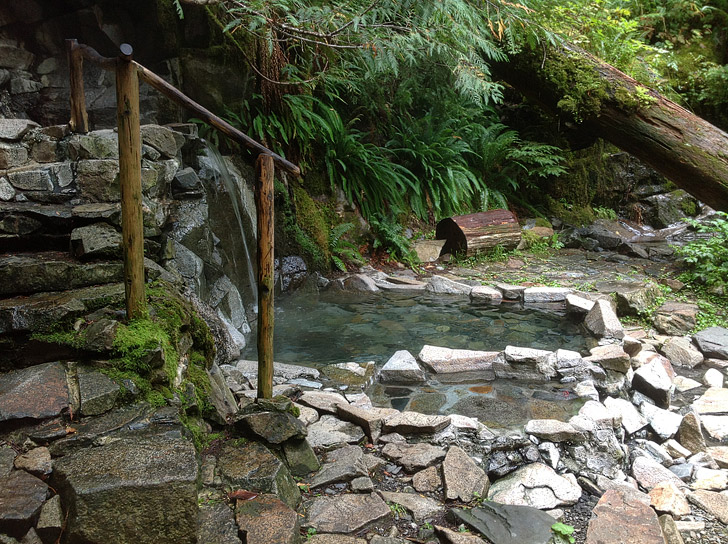 Goldmyer Hot Springs Washington (25 Best Hot Springs in the US).