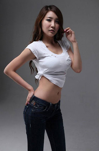Korean Model Bang Eun Young photo