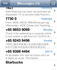 IOS6 upgrade, starbuck promotion gone