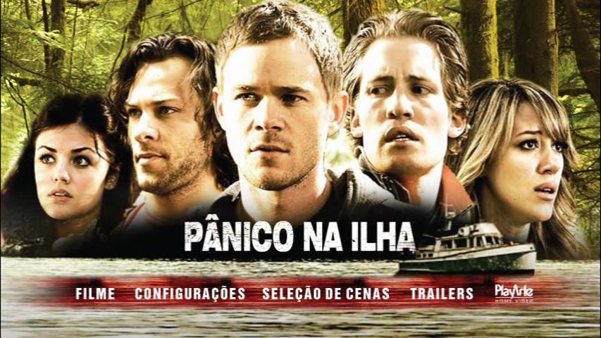 Pânico na Ilha DVD R