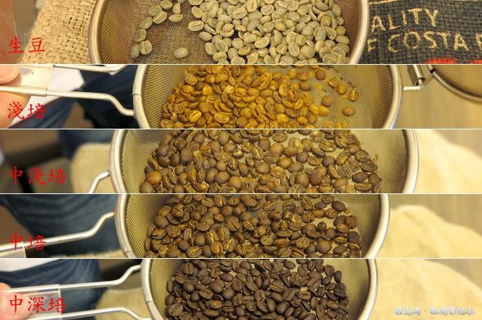 歐客佬咖啡農場咖啡生豆烘焙體驗