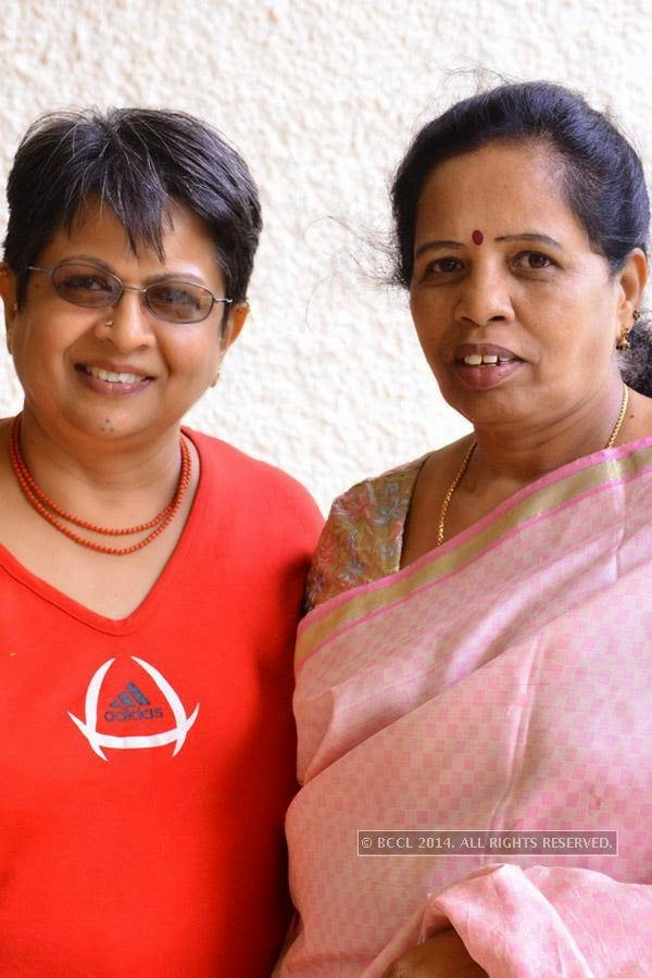 Padmavathi and Shardha during Picnic Brunch at the Lalit Ashok in Bangalore.