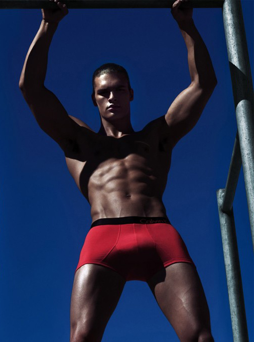 Matthew Terry @ Ford by Steven Klein for Calvin Klein Underwear, S/S 2012