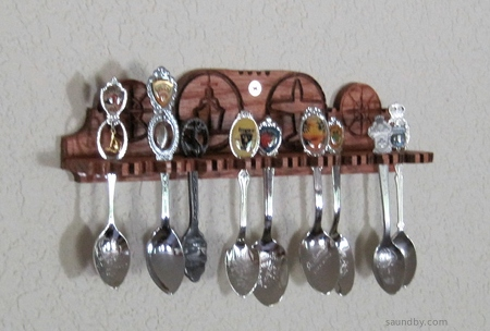 A new spoon rack I designed and built, made with my microCarve A4 CNC