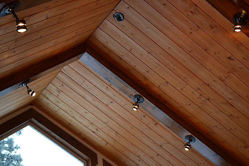 Lights On Ceiling Beams Wallpaperall