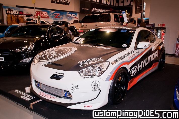 Hyundai Genesis Coupe Body Kit Designs by Atoy Customs 2012 Manila Auto Salon Custom Pinoy Rides pic35