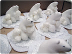 I originally made an army of bears for a holiday craft fair.