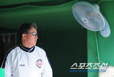 김경문 두산 베어스 감독