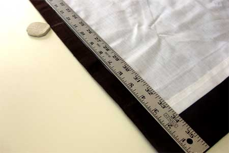 Sharon Sews Diy Lengthen Curtains With Fabric Strips